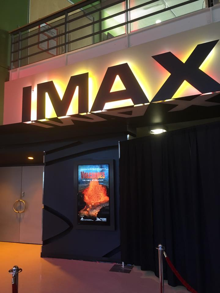 Volcanoes- The Fires of Creation in IMAX theatre