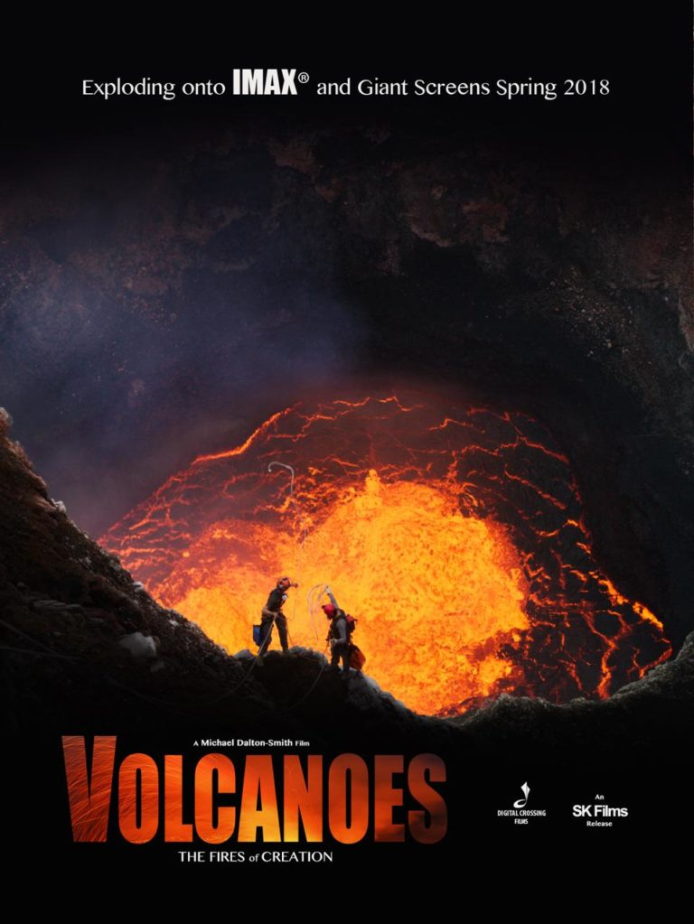 Volcanoes the Fires of Creation Movie Poster